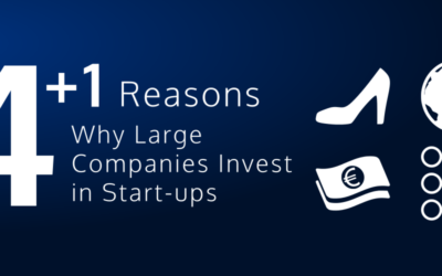 4+1 Reasons Why Corporates Invest in Start-Ups